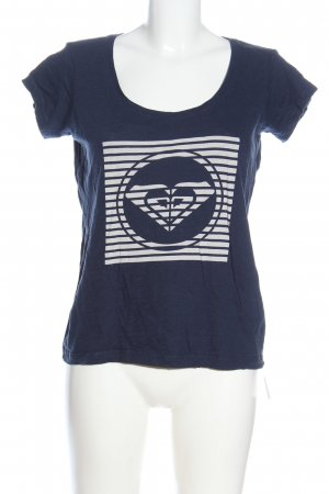 Roxy Basic Shirt blue themed print casual look