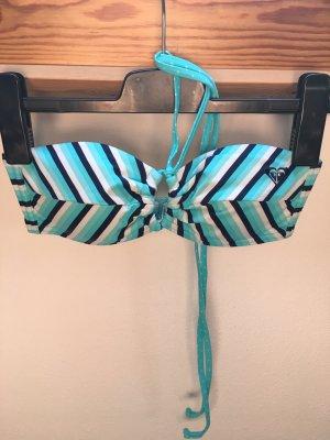 Roxy Bikinitop gestreift Größe S neu ohne Etikett
