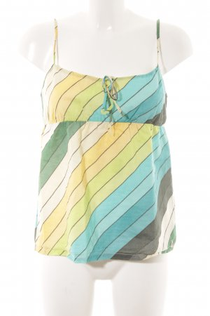 Roxy Blouse Top striped pattern simple style