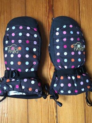 Roxy Mittens black-dark violet polyester