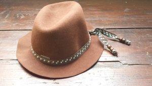 Roxy Rain Hat brown-light blue