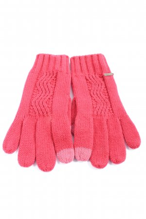 Roxy Gloves red-pink casual look