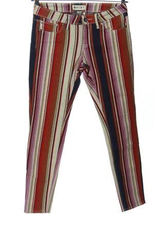 Roxy Five-Pocket Trousers striped pattern casual look