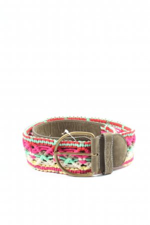 Roxy Braided Belt multicolored casual look