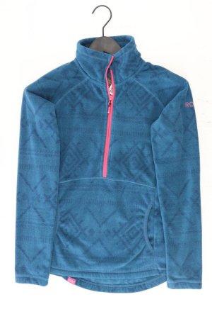 Roxy Giacca con cappuccio blu-blu neon-blu scuro-azzurro Poliestere