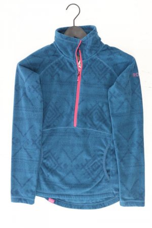 Roxy Chaqueta con capucha azul-azul neón-azul oscuro-azul celeste Poliéster