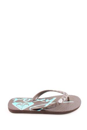 Roxy Flip Flop Sandalen braun-türkis Casual-Look