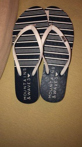 Roxy Flip flop sandalen veelkleurig Gemengd weefsel