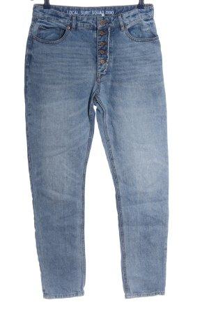 Roxy Jeans taille haute bleu style décontracté