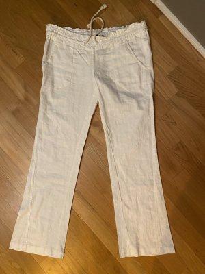 Roxy Linen Pants white linen