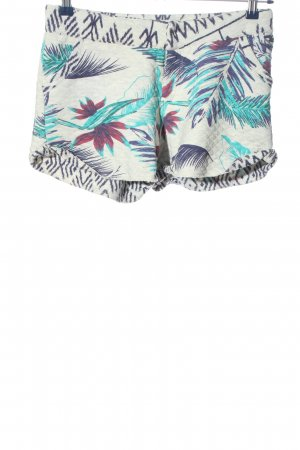 Roxy Hot Pants Allover-Druck Casual-Look