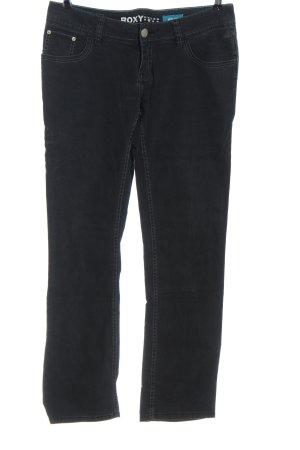 Roxy Jeans taille basse noir style décontracté