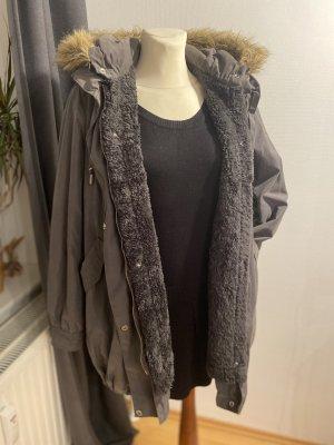 Roxy Giacca con cappuccio rosa-grigio scuro