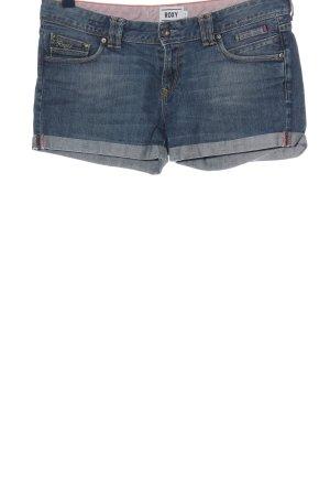 Roxy Jeansshorts blau Casual-Look