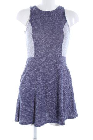 Roxy Abito jersey lilla-grigio chiaro puntinato stile casual