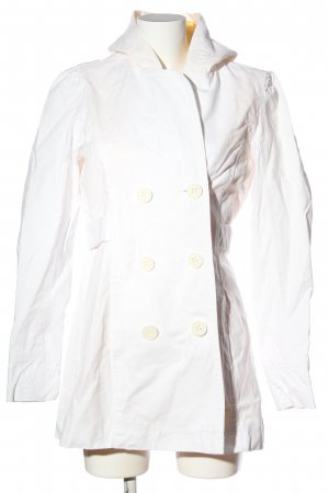 Roxy Hooded Coat white business style