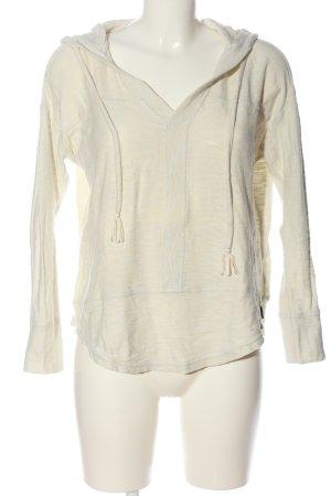 Roxy Jersey con capucha blanco puro look casual