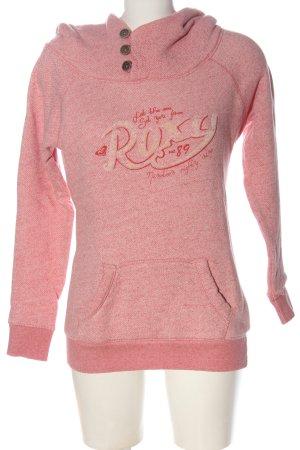 Roxy Kapuzensweatshirt pink meliert Casual-Look