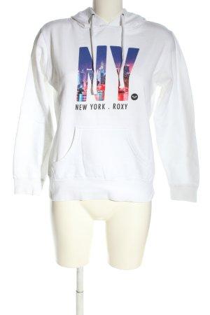 Roxy Kapuzensweatshirt Motivdruck Casual-Look
