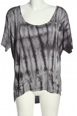 Roxy T-Shirt hellgrau abstraktes Muster Casual-Look
