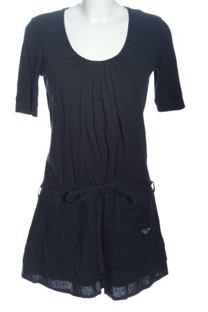 Roxy Kurzarmkleid blau Casual-Look