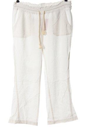 Roxy Linen Pants white casual look