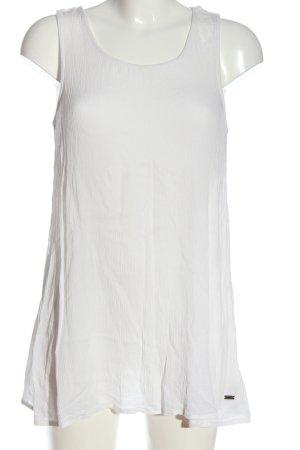 Roxy Lange top wit casual uitstraling