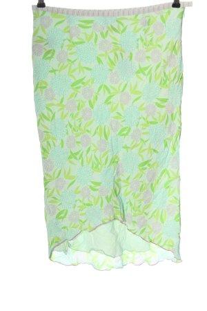 Roxy Midi Skirt flower pattern casual look