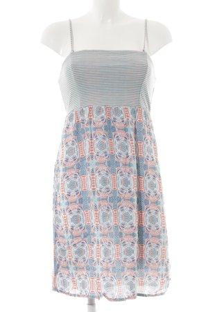 Roxy Minikleid abstraktes Muster Street-Fashion-Look