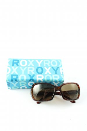 Roxy Oval Sunglasses brown-light orange casual look