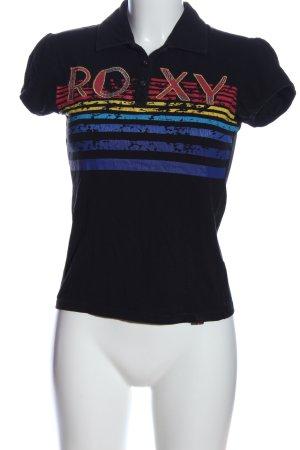 Roxy Polo-Shirt Schriftzug gedruckt Casual-Look