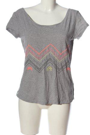 Roxy Print-Shirt meliert Casual-Look