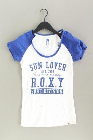 Roxy Print Shirt blue-neon blue-dark blue-azure cotton