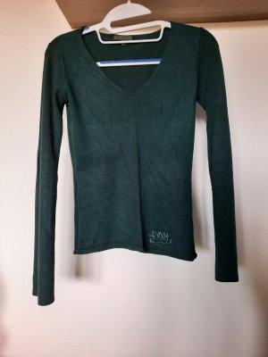 Roxy V-Neck Sweater dark green