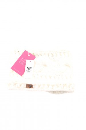 Roxy Snood natural white cable stitch casual look