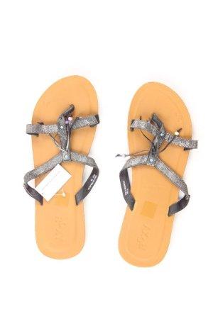 Roxy Sandalen grau Größe 39