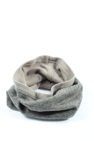 Roxy Bufanda tubo gris claro moteado look casual