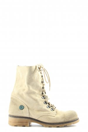 Roxy Lace-up Booties natural white casual look