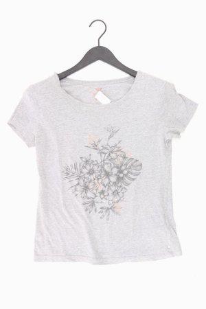 Roxy Shirt Größe M grau aus Baumwolle