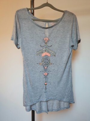 Roxy Top cut out gris claro