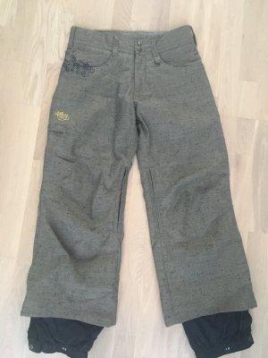 Roxy Pantalon de sport gris brun