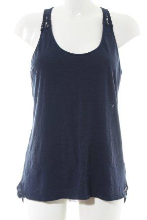 Roxy Spitzentop blau Casual-Look