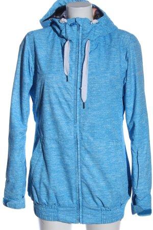 Roxy Sportjacke blau meliert Casual-Look
