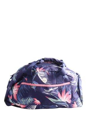 Roxy Sporttasche blau-pink Allover-Druck Casual-Look