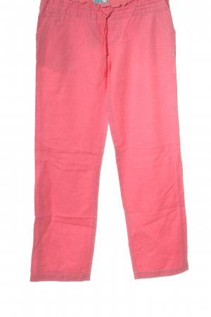 Roxy Jersey Pants pink embroidered lettering casual look