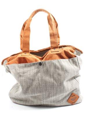 Roxy Stoffen tas lichtgrijs gestippeld casual uitstraling