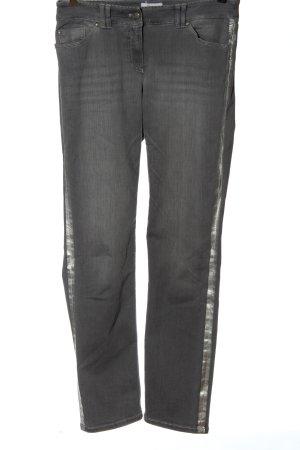 Roxy Jeans a gamba dritta grigio chiaro stile casual