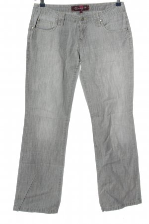 Roxy Straight-Leg Jeans hellgrau Casual-Look