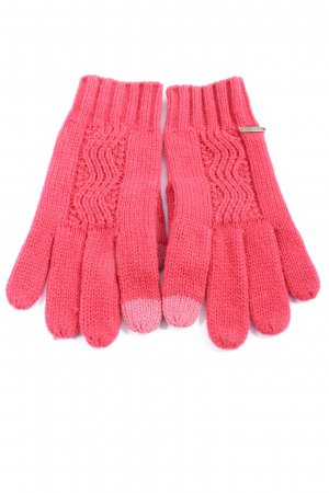 Roxy Knitted Gloves pink casual look