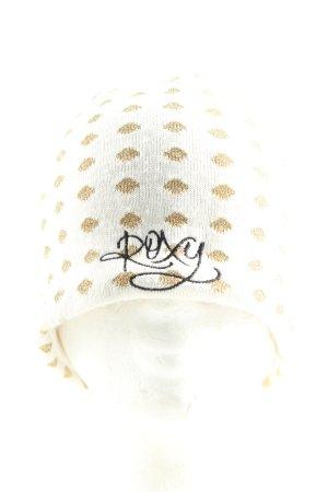 Roxy Cappello a maglia motivo a pallini stile casual
